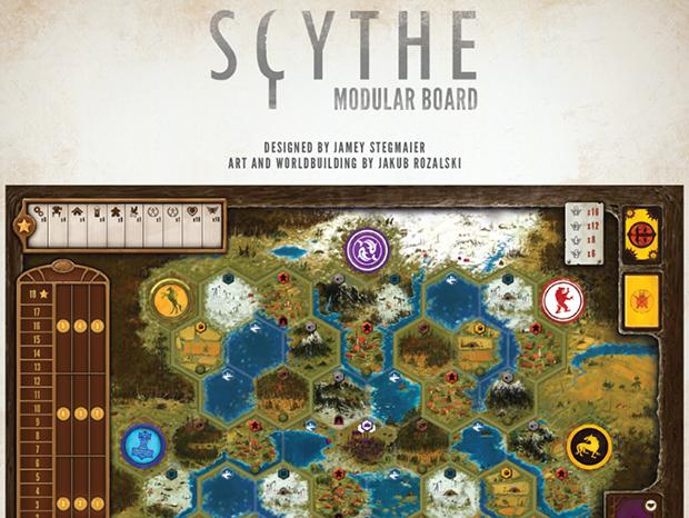Scythe: Tabuleiro Modular