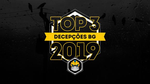 Top 3 decepções nos board games em 2019