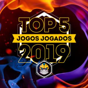 top 5 jogos de tabuleiro jogados em 2019