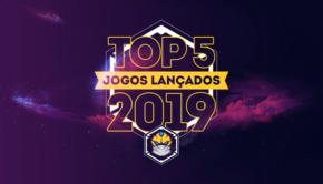 top 5 jogos de tabuleiro lançados em 2019