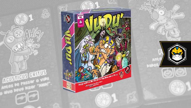 Review – Vudu é pra jacu! - Tábula Quadrada - Board Games