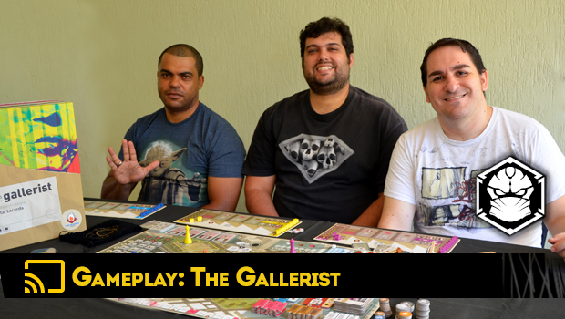 The Gallerist A Game By Vital Lacerda The Art Of: Gameplay 01: The Gallerist