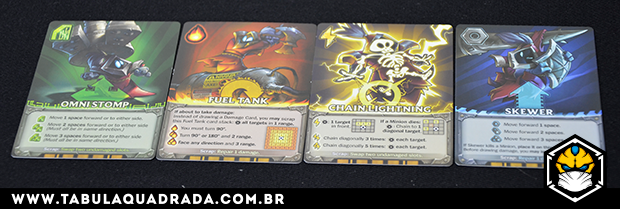 Cartas Mechs vs Minions