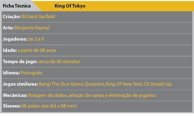 Ficha Tecnica King Of Tokyo