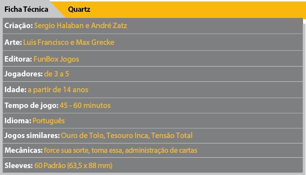 Ficha Tecnica Quartz