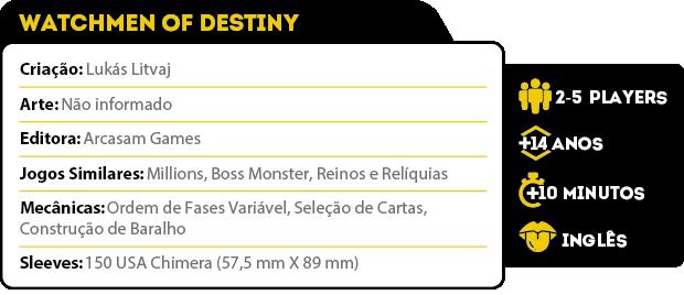 Ficha Tecnica Watchmen of Destiny