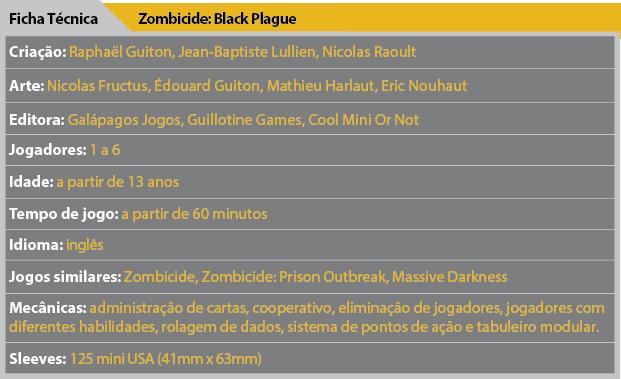 Ficha Tecnica Zombicide-Black-Plague
