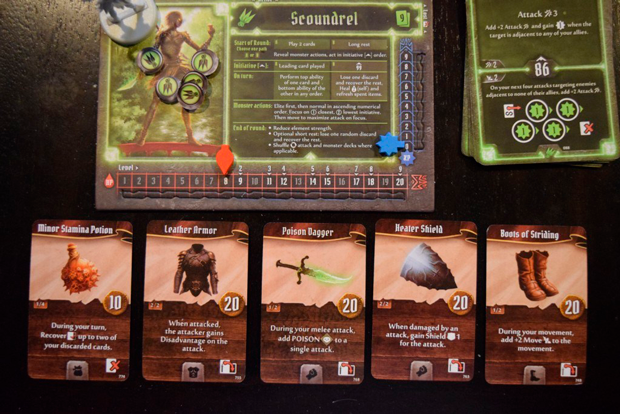 Gloomhaven-Items