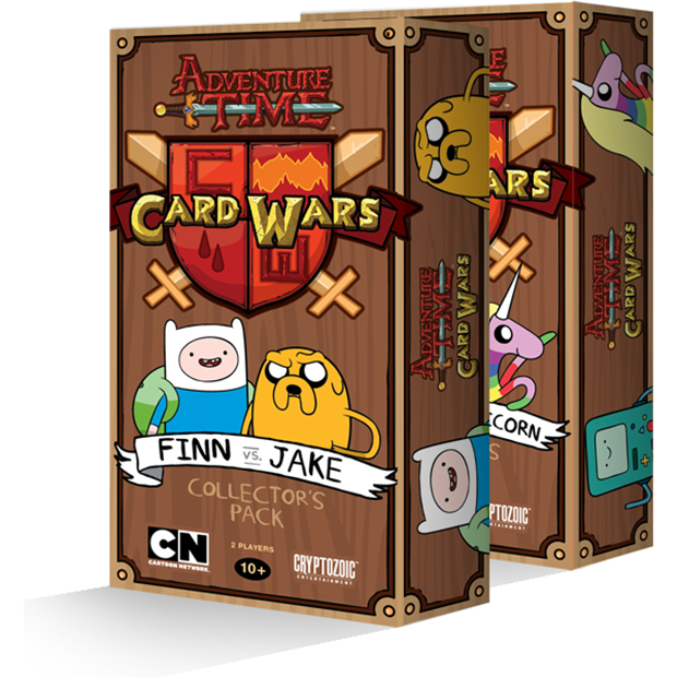 Post Card Wars Adventure Time