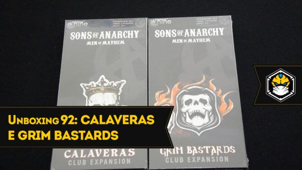 Unboxing Calaveras Club e Grim Bastards