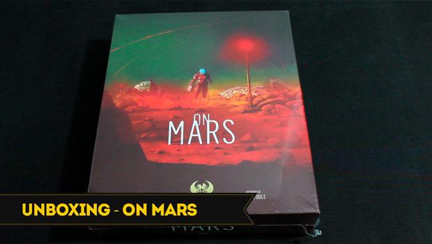 capa unboxing On Mars