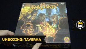 Capa unboxing Taverna
