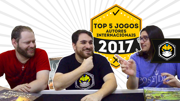 Top 5 Jogos 2017 - Designer internacional