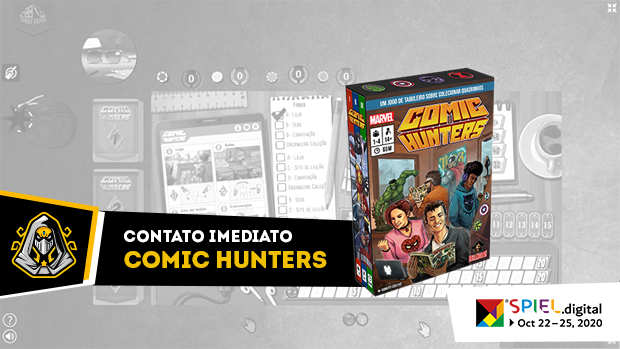 capa Comic Hunters