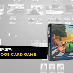 capa review Dogs Card Game