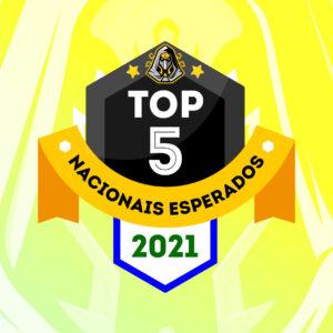 Top 5 jogos de tabuleiro nacionais mais esperados em 2021