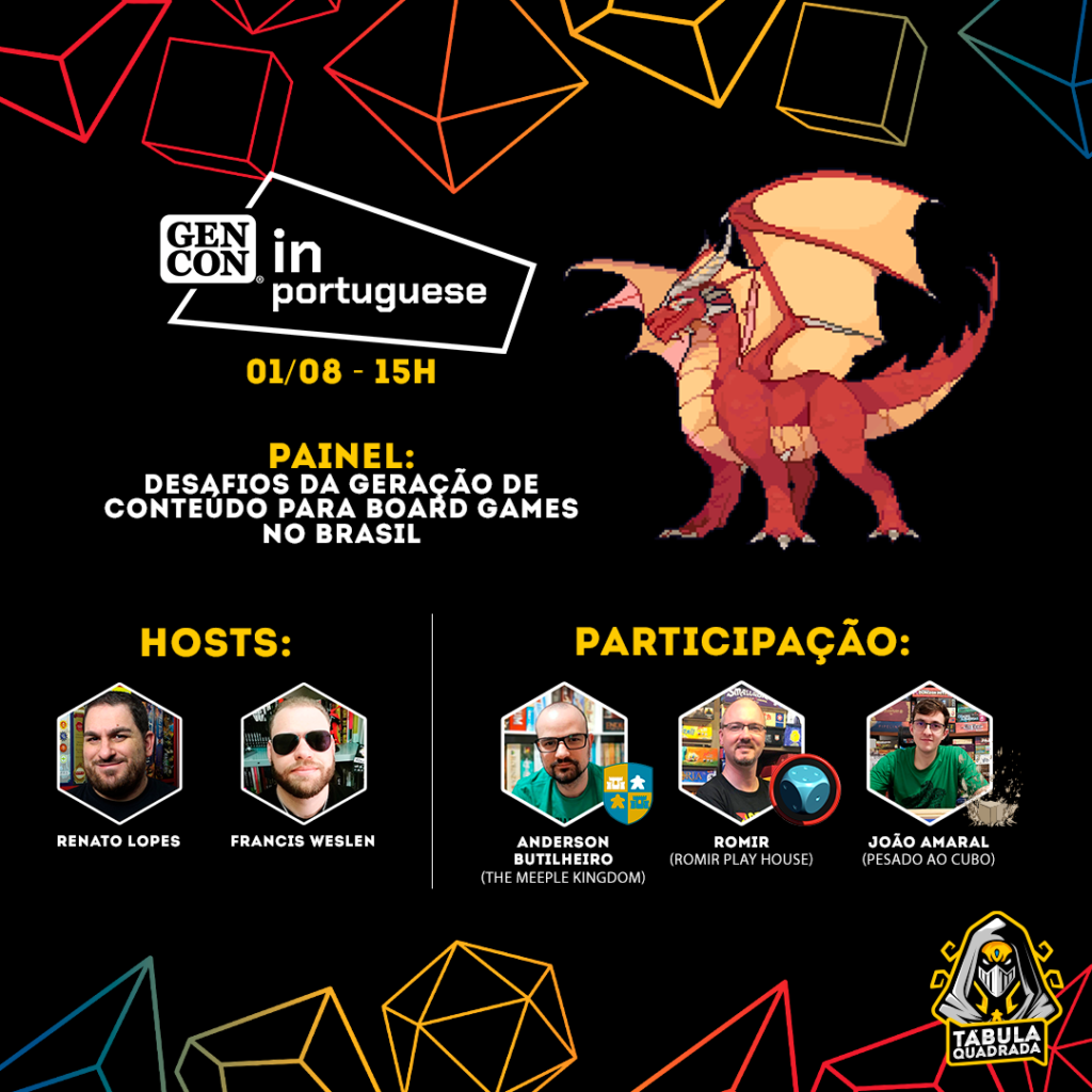 GenCon In portuguese