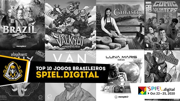 top 10 jogos brasileiros na SPIEL.digital