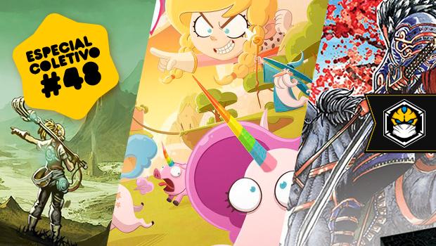 Especial Coletivo 48: Living Planet, Kill the Unicorns e Samurai Vassals