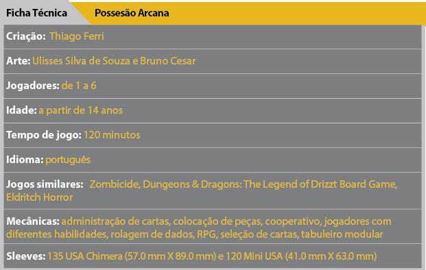 Ficha Review Possessao Arcana