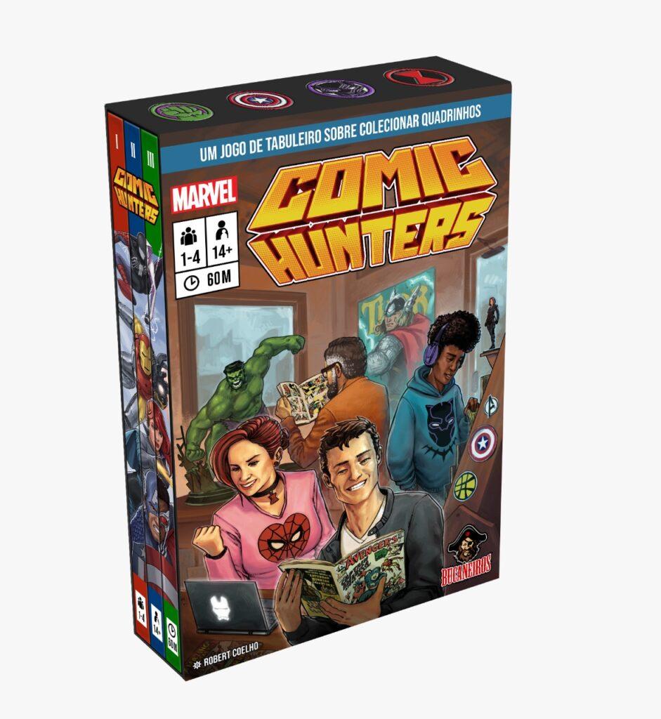 Comic Hunters, 10 jogos brasileiros na SPIEL.digital