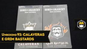 Unboxing Calaveras Club e Grim Bastards