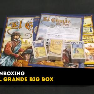 Unboxing El Grande Big Box