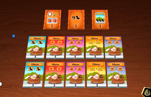 Metas financiamento coletivo Dogs Card Game