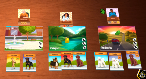 Dogs Card Game