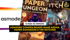 Asmodee compra Board Game Arena, Paper Dungeons e The Witcher