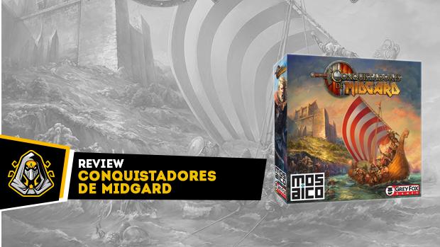 conquistadores de midgard capa de review
