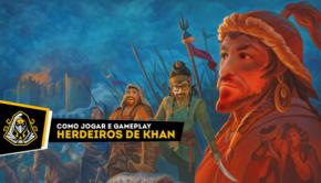 Herdeiros do Khan gameplay e regras