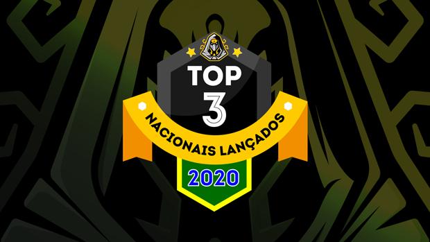 Top 3 jogos de tabuleiro nacionais lançados em 2020
