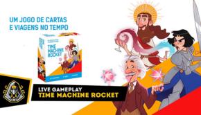 Live Gameplay - Time Machine Rocket