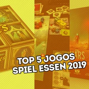 Top 5 jogos Essen Spiel 2019